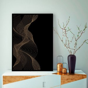 Quadro decorativo Linhas Abstratas
