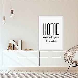 Quadro decorativo Home is a Feeling