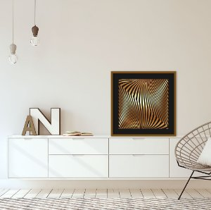 Quadro Decorativo Gold