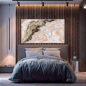 Quadro decorativo Abstrato Rosé