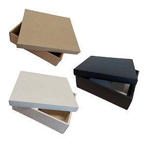 Caixa para Presente Luxo - 19,5x19,5x8,5cm - 01 unidade - Rizzo