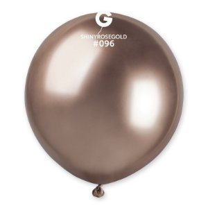 """Balão Látex 19"""" 48cm - Shine Rose Gold - 01 Unidade - Gemar - Rizzo"""