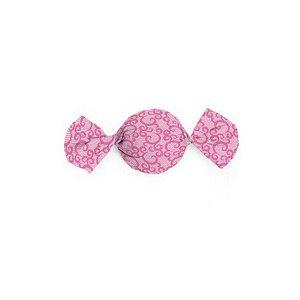 Papel Trufa 14,5x15,5cm - Renda Pink - 100 unidades - Cromus - Rizzo