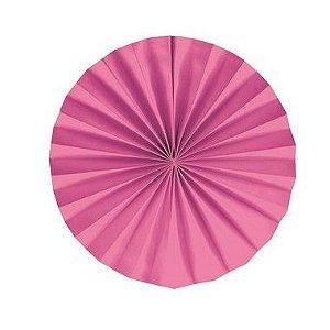 Leque Decorativo de Papel Pink 25cm - 02 unidades - Cromus - Rizzo