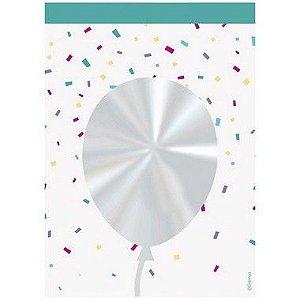 Saco Decorado Registrado Balão - 11x19,5cm - 50 unidades - Cromus - Rizzo