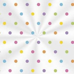 Saco Decorado Colors - 11x19,5cm - 100 unidades - Cromus - Rizzo