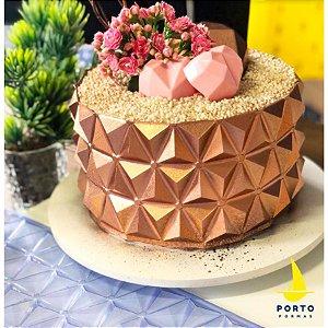 Forma de Acetato 3D Cake Ref 866 Porto Formas Rizzo