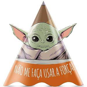 Chapeu de Aniversário Festa Star Wars Mandalorian - 12 unidades - Regina - Rizzo
