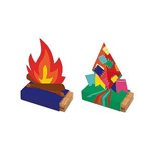 Caixa para Paçoca Composê Festa Junina - 08 unidades - Cromus - Rizzo