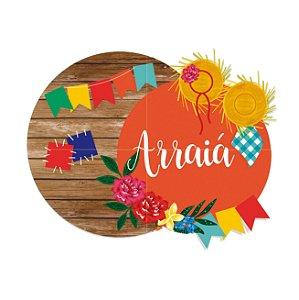 Painel com 4 Laminas Festa Junina - 01 unidade - Cromus - Rizzo
