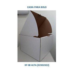 Caixa para Bolo 32x32x22 cm - Nº 08 ALTA - Niagara