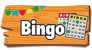 Placa de Sinalização Bingo Festa Junina - 01 unidade - Cromus - Rizzo