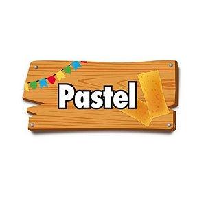 Placa de Sinalização Pastel Festa Junina - 01 unidade - Cromus - Rizzo