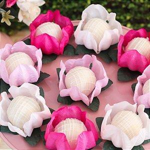 Forminha para Doces Finos - La Belle Mista 3 Tons Rosa - 40 unidades - MaxiFormas