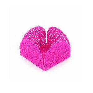 Forminha para Doces Finos - Caixeta Tela Pink - 50 unidades - MaxiFormas