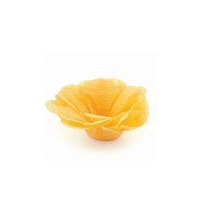 Forminha para Doces Finos - R82 Crepom Amarelo Ouro - 40 unidades - MaxiFormas