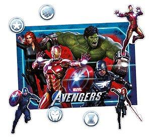 Kit Decorativo Avengers Game Verse - 02 unidades - Regina - Rizzo
