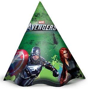 Chapéu de Aniversário Festa Avengers Game Verse - 12 unidades - Regina - Rizzo