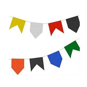 Bandeirinha Festa Junina de Papel de Seda 10 Metros - Rizzo