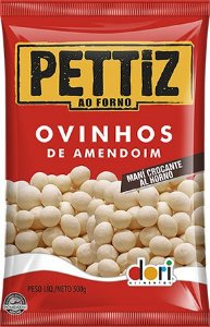Ovinhos de Amendoim Pettiz ao Forno 500g - Dori Alimentos - Rizzo