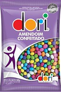 Amendoim Confeitado Colorido 500g - Dori Alimentos - Rizzo