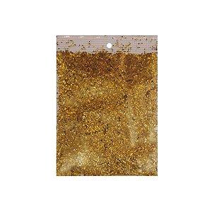 Confete Metalizado para Balão 15g - Dourado - Artlille - Rizzo Balões
