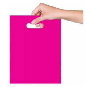 Sacola Sorriso 30x40 cm - Pink - Magnatech