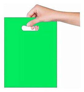 Sacola Sorriso 20x30 cm - Verde - Magnatech