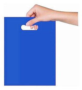 Sacola Sorriso 20x30 cm - Azul - Magnatech