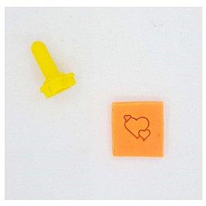 Carimbo Mini - Corações - Imprimire 3D - Rizzo Confeitaria