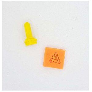 Carimbo Mini - Fogueira - Imprimire 3D - Rizzo Confeitaria