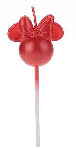 Vela Minne 360 Vermelha Disney Silver Festas Rizzo