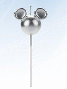 Vela Mickey 360 Prata Disney Silver Festas Rizzo