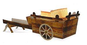 Carroção Decorativo de Papel 1un. Kaixote Rizzo