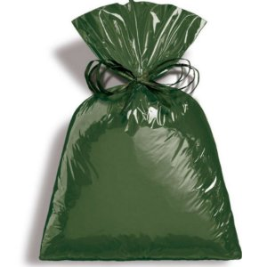 Saco Metalizado Dark Green 30x44cm - 50 unidades - Cromus - Rizzo