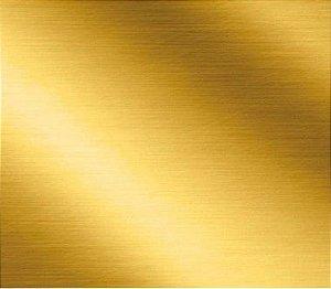 Saco Metalizado com Aba Adesiva Dourado - 30x42cm - 50 unidades - Cromus - Rizzo