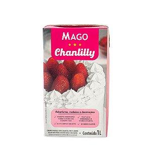 Chantilly 1L Mago - Rizzo Confeitaria