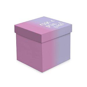 Caixa Cubo Degrade - 01 unidade - Cromus - Rizzo