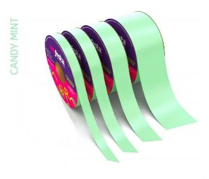 Rolo Fita Lisa Candy Verde - 30mm x 50m - EmFesta