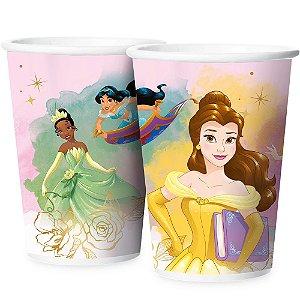 Copo Papel 180ml - Festa Princesas Disney - 12 unidades - Regina - Rizzo