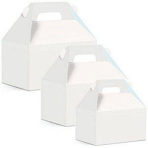 Caixa Maleta Kids Branco Liso - 10 unidades - Cromus - Rizzo
