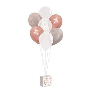 Kit Balões - Festa OH Baby Girl - 01 unidade - Cromus - Rizzo