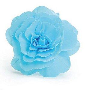 Flor Decorativa Azul 40cm - 01 unidade - Cromus - Rizzo
