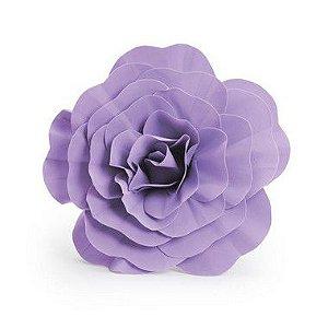 Flor Decorativa Lilás 40cm - 01 unidade - Cromus - Rizzo