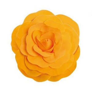 Flor Decorativa Laranja 40cm - 01 unidade - Cromus - Rizzo