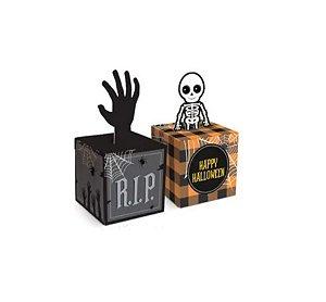 Caixa Pop-up Halloween - Doces ou Travessuras - 10 unidades - Cromus - Rizzo