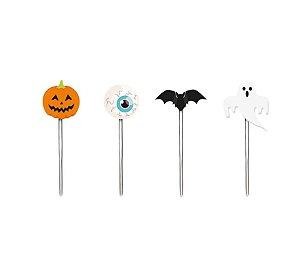 Pick Decorativo Halloween - Doces ou Travessuras - 12 unidades - Cromus - Rizzo