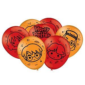 Balão Festa Harry Potter Kids - 25 unidades - Festcolor - Rizzo Festas