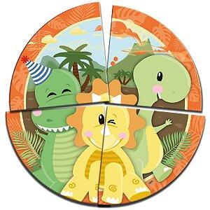 Painel Decorativo Festa Dino Baby - 1 Unidades - Festcolor - Rizzo