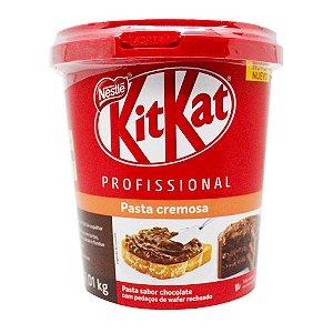 Pasta Cremosa Kit Kat Profissional 1 kg - 01 unidade - Nestlé - Rizzo Confeitaria